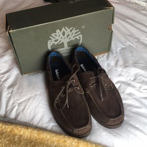 Men's Timberland boat shoes. Brand new.